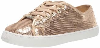 Bebe Women's Dyanna Sneaker Gold 8.5 Medium US
