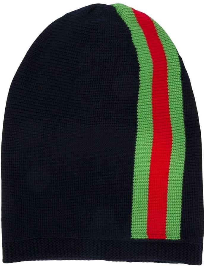 cdc8c85a Kids TEEN striped beanie hat