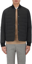 Officine Generale Men's Quilted Nylon Bomber Jacket
