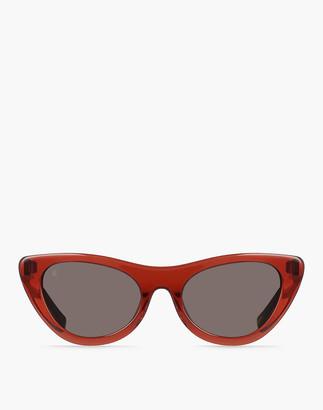 Madewell Raen Flora Cat-Eye Sunglasses