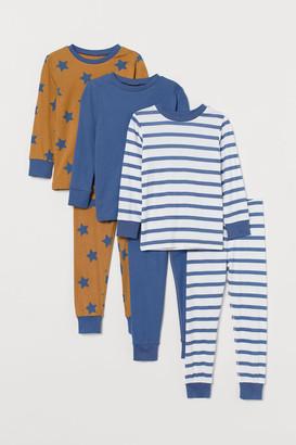 H&M 3-Pack Pyjamas
