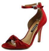 Kay Unger Conyer Women Open-toe Canvas Red Slingback Heel.