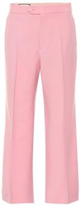 Gucci High-waisted wool pants