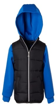 Perry Ellis Little Boys Vest with Neoprene Hood and Sleeves