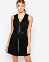 Oasis Utility Zip Front Dress