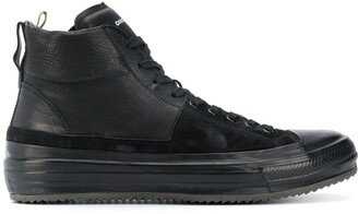 Officine Creative Lace-Up Hi-Top Sneakers