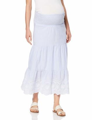 Mama Licious Mamalicious Women's Mlleila Embroidery Woven Maxi Skirt