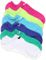 Nike Lightweight Performance Youth No Show Socks - 6 Pack - Girl's