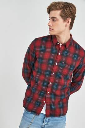 Levi's Mens Sunset Check Shirt - Red