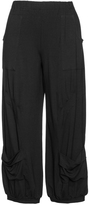 Isolde Roth Plus Size Double pocket jersey balloon trousers