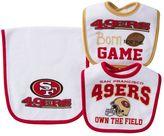 Baby San Francisco 49ers 3-Piece Bib & Burp Cloth Set