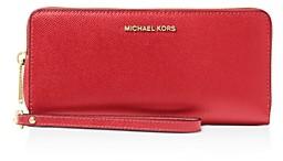 MICHAEL Michael Kors Wallet - Jet Set Travel Continental Saffiano