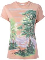 Stella McCartney landscape T-shirt - women - Cotton - 42