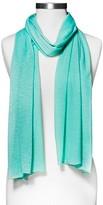 Xhilaration Women's Jersey Knit Fashion Scarf Mint