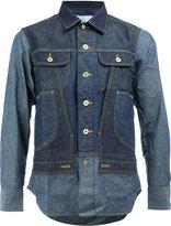 Comme des Garcons flap pockets denim shirt - men - Cotton - M