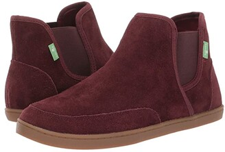 Sanuk Pair O Dice Mid Suede (Bitter Chocolate) Women's Boots
