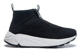 HUGO Running-style trainers with knitted upper and Vibram sole