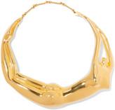 Aurelie Bidermann Body gold-plated necklace