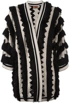 Missoni structured thick cardigan