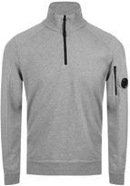 C.P. Company Half Zip Sweatshirt Grey