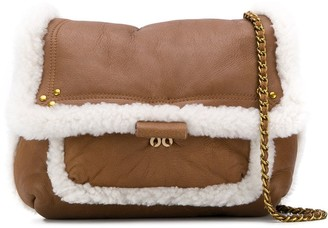 Jerome Dreyfuss shearling crossbody bag