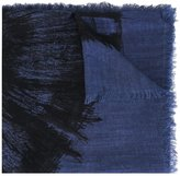 Diesel frayed edge scarf - men - Viscose - One Size