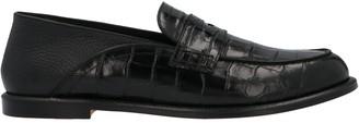 Loewe Embossed Slip On Loafers