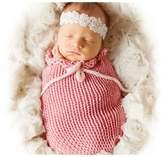 Vemonllas Fashion Unisex Newborn Boy Girl Crochet Outfits Baby Photography Props Sleeping Bag
