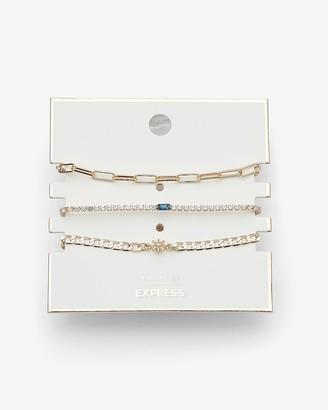Express 3 Piece Star Bracelet Gift Set