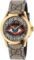 Gucci 38MM G-Timeless Eye Motif Watch