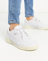 Reebok Classics workout Lo Plus trainers in white