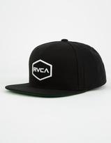 RVCA Commonwealth Boys Snapback Hat