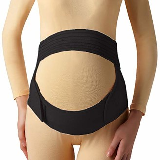 Positive Twins Creations Pregnancy Support Belt Breathable Belly Band That Provides Hip Pelvic
