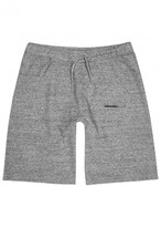 Dsquared2 Grey Mélange Cotton Shorts