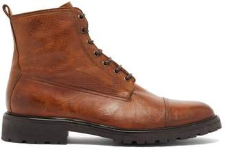 Belstaff Alperton Leather Boots - Mens - Brown