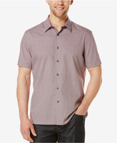 Perry Ellis Men's Diamond Print Short-Sleeve Shirt