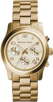 MICHAEL Michael Kors 38mm Jet Set Chronograph Bracelet Watch, Yellow Gold