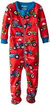Hatley Baby Boys 0-24m Footed Coverall Footies, Red