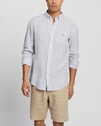 Gant The Linen Stripe Reg Button-Down Shirt