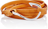 Miansai Men's Hook On Leather Wrap Bracelet