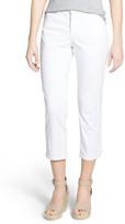 NYDJ 'Karen' Stretch Denim Capri Jeans (Petite)