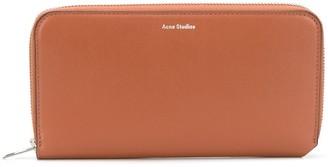 Acne Studios Fluorite logo-print wallet