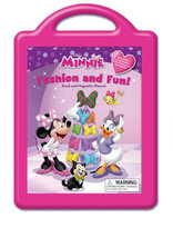 Disney Minnie Fashion and Fun: Book and Magnetic Play Set