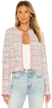 BB Dakota Neon Belief Tweed Jacket