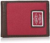 Levi's Men's Extra Capacity Slimfold Irving Wallet