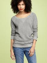 Zip raglan sweatshirt
