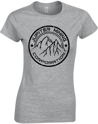 JLB Print Jupiter Mining Corporation Sci Fi TV Show Premium Quality Fitted T-Shirt Top for Women and Teens