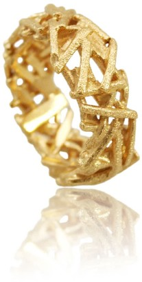 Karolina Bik Jewellery Nest Ring Gold