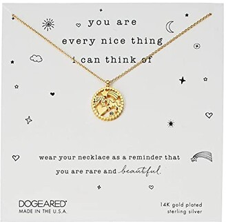 Dogeared You Are Every Nice Thing, Magical Multi-Icon Pendant Necklace (Gold) Necklace