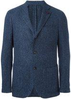 Lardini classic single pocket blazer